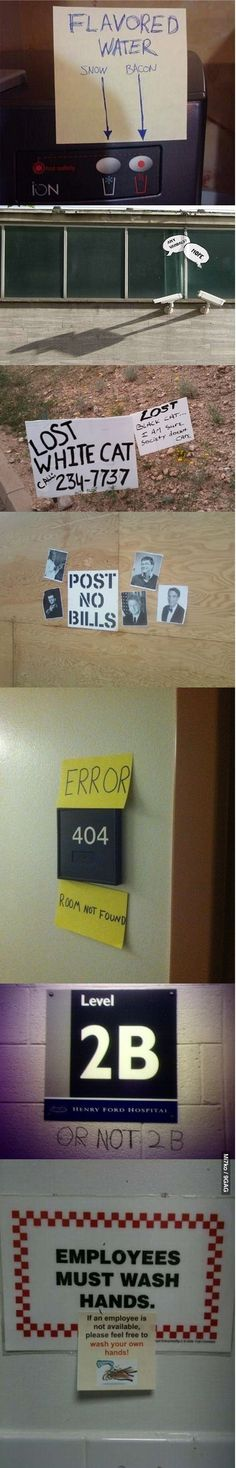 Creative vandals.