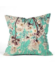 Look at this Lisa Argyropoulos Spring Showers Throw Pillow on #zulily today!