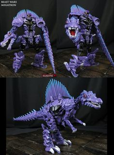 Beast Wars Megatron AoE style custom figure by Jin-Saotome on DeviantArt Ironhide Transformers, Transformers Toys, Transformers Characters, Transformers Action Figures, Optimus Prime Toy, Incredible Toy, Beast Machines, Battle Robots, Lego Sculptures