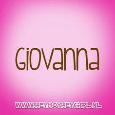Giovanna (Voor meer inspiratie, en unieke geboortekaartjes kijk op www.heyboyheygirl.nl)