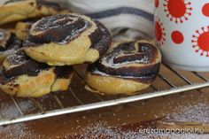 Cukormentes kakaós csiga Muffin, Breakfast, Food, Morning Coffee, Meals, Muffins, Yemek, Morning Breakfast, Eten
