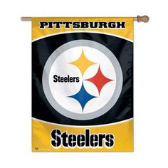 Pittsburgh Steelers NFL Vertical Flag (27x37)