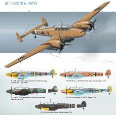 Bf 110 in the Med.