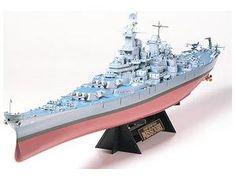 Tamiya Ship Series US Navy battleship Missouri Model Car 78018 Plastic Model Kits, Plastic Models, Wooden Ship Model Kits, Battleship Missouri, Tamiya Model Kits, Uss Iowa, Us Battleships, Model Ships, Water Crafts