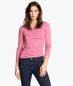 H&M Long-sleeved Jersey Top $12.95