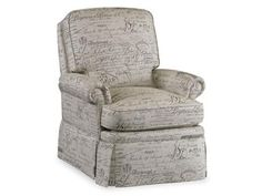 Shop for Bradington Young Harper Wall-Hugger Recliner with Skirt, 2303, and other Living Room Chairs at Weinberger's Furniture and Mattress Showcase in Georgia. Distance from Wall to Full Recline: 2 inches, Chair In Full Recline: 63 inches. I like this fabric