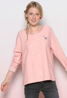 Gorgeous pink top from Des Petits Hauts