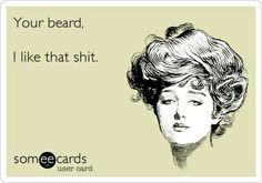Your beard, I like that shit. beards bearded men #beardlove