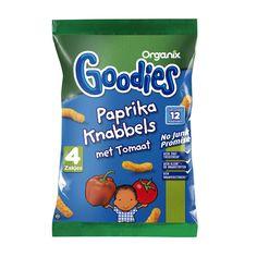 Goodies Knabbels paprika-tomaat 12+