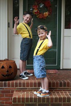 Harris Sisters GirlTalk: Minion - DIY Halloween Costumes