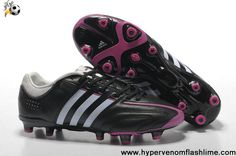 Sale Cheap Black-Running White-Bright Pink Adidas Adipure 11Pro TRX FG Football Boots On Sale