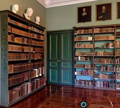 Die Schlossbibliothek im Residenzschloss Heidecksburg