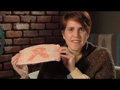 Illusion knitting, SO COOL! She offers free patterns and tutorials after every video from a website, and she also shows knitting books that relate to it or where she got her pattern from. LOVE IT!