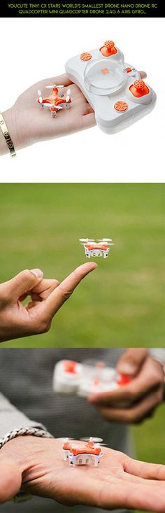 YouCute TINY! Cx Stars World's Smallest Drone Nano Drone RC Quadcopter mini quadcopter drone 2.4G 6 Axis Gyro (Orange) #cx-stars #camera #parts #shopping #fpv #products #gadgets #drone #kit #technology #drone #plans #racing #tech