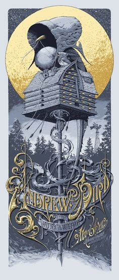 Andrew Bird   5/6/12   House Of Blues   Boston, MA   Community Post: 29 Of The Most Awesome Concert Posters You Will Ever See