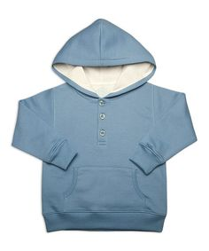 Take a look at this Blue Organic Hoodie - Toddler by Origany on #zulily today! #fall