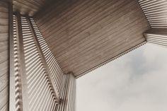 #swissarchitecture #architecture #facade #housing #wood #zurich Zurich, Facade, Blinds, Curtains, Architecture, Wood, Home Decor, Arquitetura, Decoration Home
