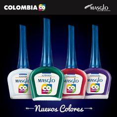 Colección Color Colombia #SoyMasglo #Masglo #MasgloLOVERS #ColeccionColorColombia #NailPolish