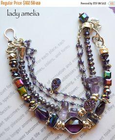 ON SALE bracelet amethyst bracelet druzy bracelet by soulfuledges