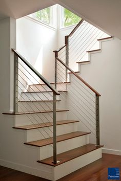 Brazilian Cherry Wood Flooring Love these stairs