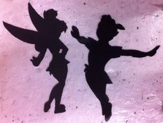 PETER PAN and TINKER BELL about 13 inches tall $20 each or $35 for set