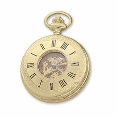 Charles Hubert Gold-plated White Dial Pocket Watch Jewelry Adviser Charles Hubert Watches. $112.08