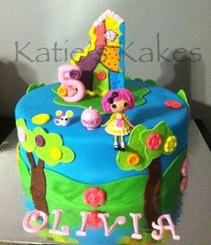 Katie's Kakes: Lalaloopsy Birthday Cake