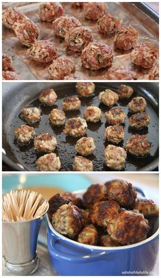 Sausage Balls | Love this, great EASY appetiser for parties!
