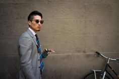 Takahiro Osaki of Liverano the armoury menswear