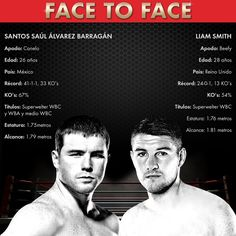 "Saúl ""Canelo"" Álvarez vs Liam Smith #Canelo #CaneloSmith #boxing"