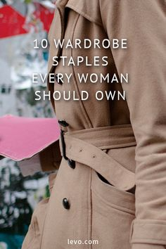Wardrobe styles every woman should own. www.levo.com