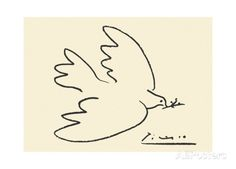 Dove of Peace Print by Pablo Picasso at AllPosters.com
