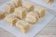 Przepis na kruche krówki z masłem orzechowym