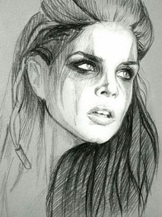 Octavia Blake (Quick sketch) by Hobby-tribut . The 100 Fan Art Sketch / Drawing Lexa The 100, The 100 Clexa, The 100 Cast, The 100 Show, Cool Drawings, Drawing Sketches, Drawing Art, Sketching, The 100 Characters