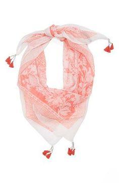 Pretty scarves for spring