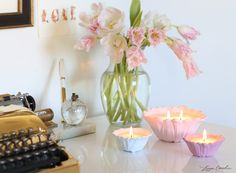 LaurenConrad.com's Guide to Decorating with Candles