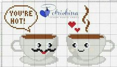 This Pin was discovered by Фёд Cross Stitch Designs, Cross Stitch Patterns, Cross Stitching, Cross Stitch Embroidery, Cross Stitch Kitchen, Silk Ribbon Embroidery, Loom Patterns, Christmas Cross, Needlepoint