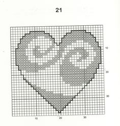 30 Free Heart Cross Stitch Patterns I always imagined choosing one designing an. - 30 Free Heart Cross Stitch Patterns I always imagined choosing one designing and making it in a wh - Cross Stitch Quotes, Cross Stitch Letters, Mini Cross Stitch, Cross Stitch Heart, Cross Stitch Borders, Modern Cross Stitch, Cross Stitch Designs, Cross Stitching, Embroidery Hearts