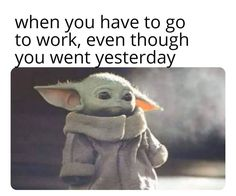 """Star Wars Memes For Anyone Who Hasn't Seen 'The Rise Of Skywalker' - Funny memes that """"GET IT"""" and want you to too. Get the latest funniest memes and keep up what is going on in the meme-o-sphere. Stupid Funny, Funny Cute, The Funny, Hilarious, Funny Stuff, Funny Things, Yoda Funny, Yoda Meme, Star Wars Meme"""