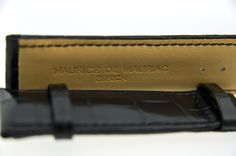 Leather Straps by Maurice de Mauriac