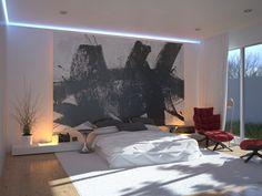 Best Chambres coucher avec des palettes neutres