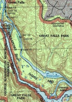 how to read a topographic map pdf