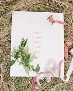 watercolor art print - photo by Ben Q Photography http://ruffledblog.com/hunter-green-and-berry-engagement-session
