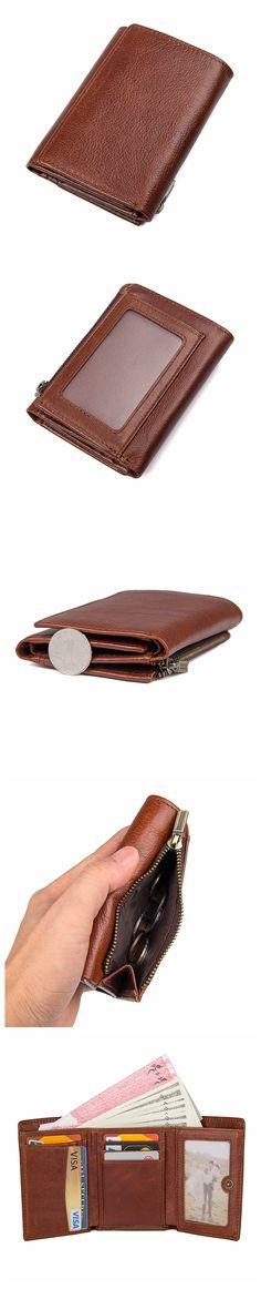 Vintage Style Leather Wallet, Wallet Money Clip Long Purse, Money Clip Wallet 8187 Model Dimensions: x / x Weight: lb / kg Color: Brown Features: Vintage Style, Vintage Fashion, Handmade Leather Wallet, Money Clip Wallet, Leather Wallets, Zip Around Wallet, Purses, Brown, Handbags