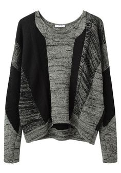 Helmut Lang mixed stitch pullover