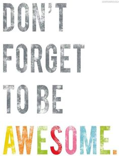 No matter what you do after you rinse & hang that #coffee mug for the day: Don't Forget To Be Awesome. =) #Wednesday