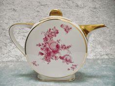 Sold - vendu - Keramis - Ebay - 1930's art deco TLB Limoges teapot http://www.ebay.fr/usr/keramis