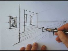▶ drawing perspective - how to draw perspective - YouTube