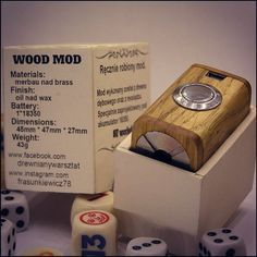 Handcrafted 18350 wood mod.  #vapepics #vape4you #vapelife  #vapelyfe #vape #vapestagram #woodboxmod #boxmod #mod #18350 #18350mod #ecig #epapieros #elektronicznepapierosy #vapepoland #warszawa #polska #poland #vapenews