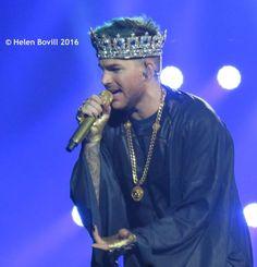 @HBovill Adam Lambert 2016.9.22